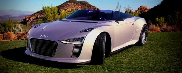 Audi e-tron Spyder cucereste insorita Californie - VIDEO!