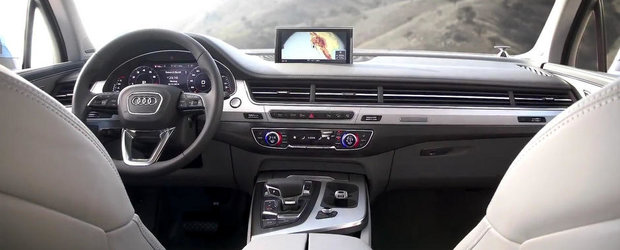 Audi evidentiaza punctele forte ale noului Q7