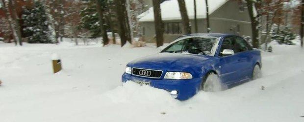 Audi fabrica pluguri model S4 de 500 cp. Sau cel putin asa crede posesorul!