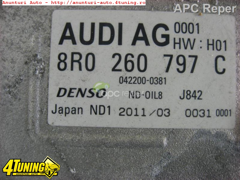 AUDI HYBRID COMPRESOR CLIMA AUDI A6 4G Q5 A8 HYBRID