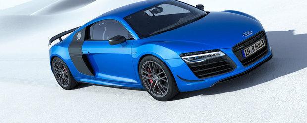 Audi ia fata BMW si lanseaza pe piata prima masina de serie cu faruri laser
