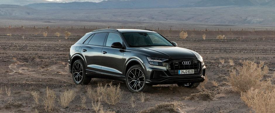 Audi joaca tare. Noul RS Q8 va avea 680 de cai si propulsia hibrida de pe Panamera Turbo S E-Hybrid