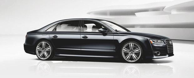 Audi lanseaza in SUA un A8 Long cu 450 CP sub capota