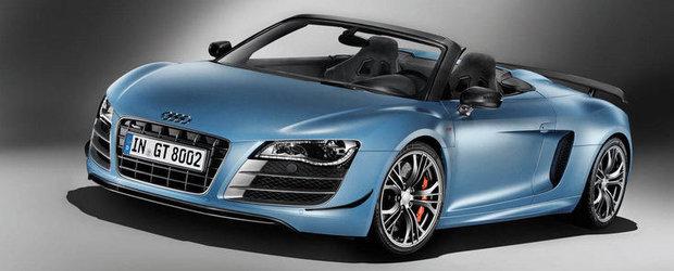 Audi lanseaza modelul exclusivist R8 GT Spyder