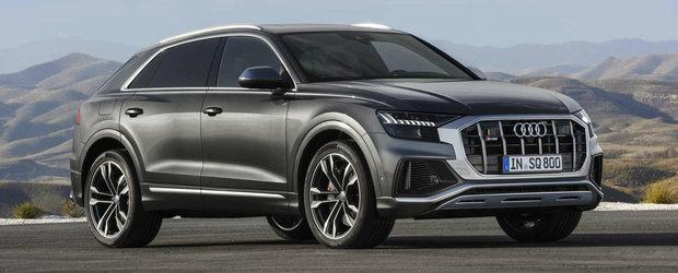 Audi lanseaza noul SQ8 cu cel mai puternic motor DIESEL disponibil momentan pe piata