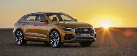 """Audi lanseaza oficial noul Q8. Cel mai tare SUV din gama nemtilor este """"net superior"""" rivalilor de la BMW si Mercedes"""