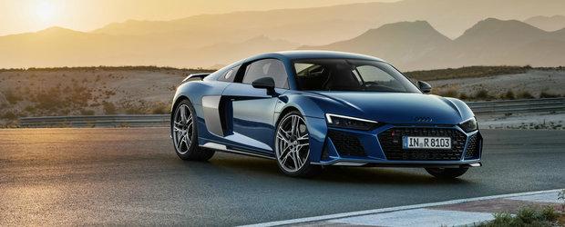 Audi, mandru nevoie mare de singurul SUPERCAR din gama. Admira noul R8 facelift in aceasta GALERIE FOTO uriasa