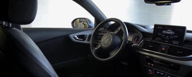 Audi ne face cunostinta cu masina care parcheaza complet singura