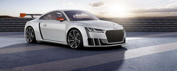 Audi ne incanta privirile cu un TT de 600 cai putere si 1.396 kilograme