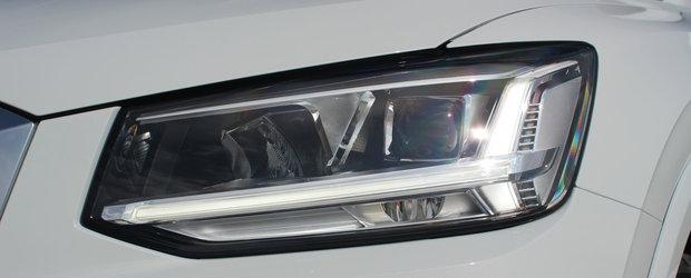 AUDI ofera pentru prima data acest model. Are 300 de cai putere si concureaza cu Mercedes GLA AMG