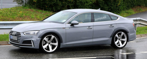 Audi pregateste o versiune in cinci usi a modelului RS5, care sa se bata cu BMW M3 si Mercedes C63. FOTO