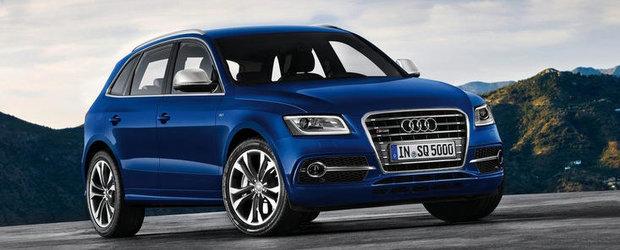 Audi pregateste un SQ5 cu motor pe benzina
