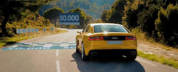 Audi prezinta in actiune noul Sport Quattro Concept