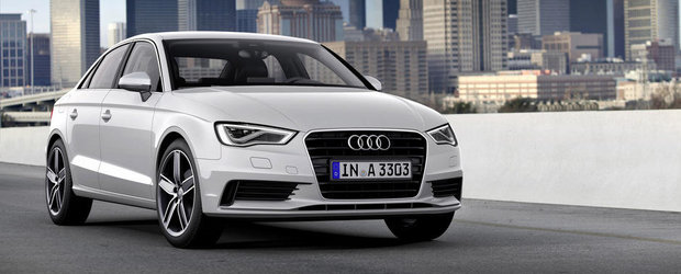 Audi prezinta in actiune si detaliu noul A3 Sedan