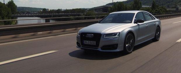 Audi prezinta in actiune si detaliu noul S8 Plus