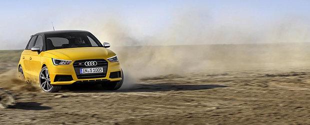 Audi prezinta noul S1, un mini hot-hatch cu 231 CP si tractiune integrala