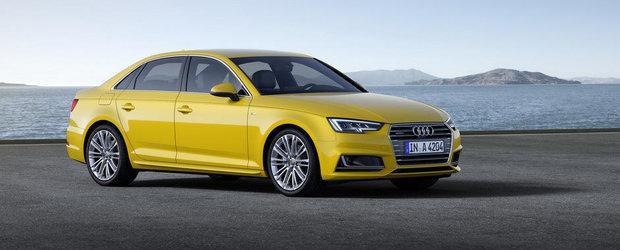 Audi prezinta oficial noul A4. GALERIE FOTO si VIDEO in ARTICOL.