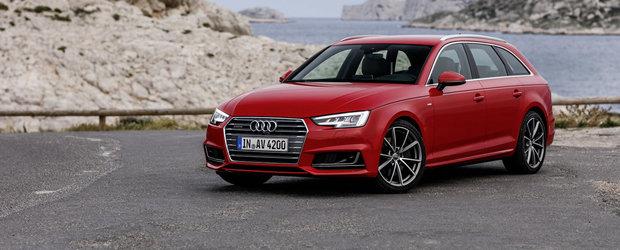 Audi publica o intreaga galerie foto a noului A4 Avant