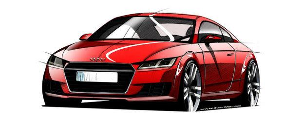Audi publica primele imagini oficiale ale noului TT