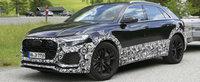 Audi pune la punct ultimele detalii tehnice. Jumatatea noului Lamborghini Urus, surprinsa in teste