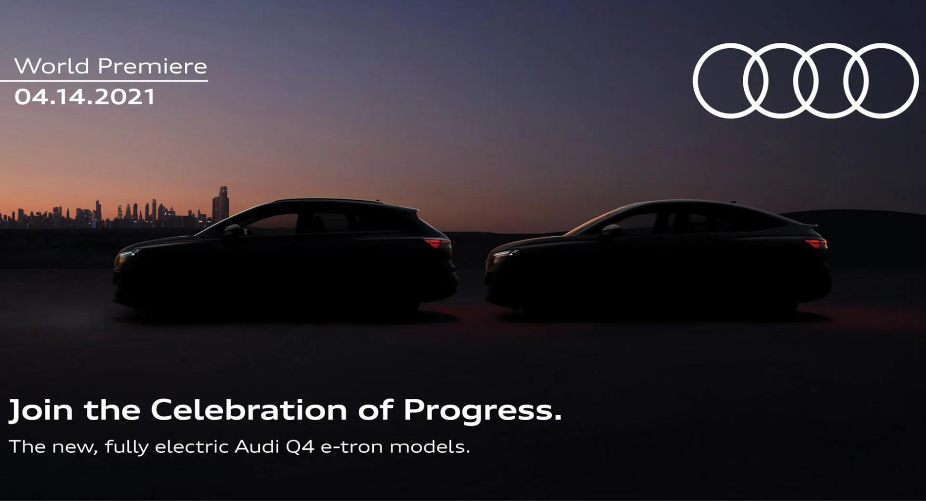 Audi Q4 E-Tron - Teaser - Audi Q4 E-Tron - Teaser