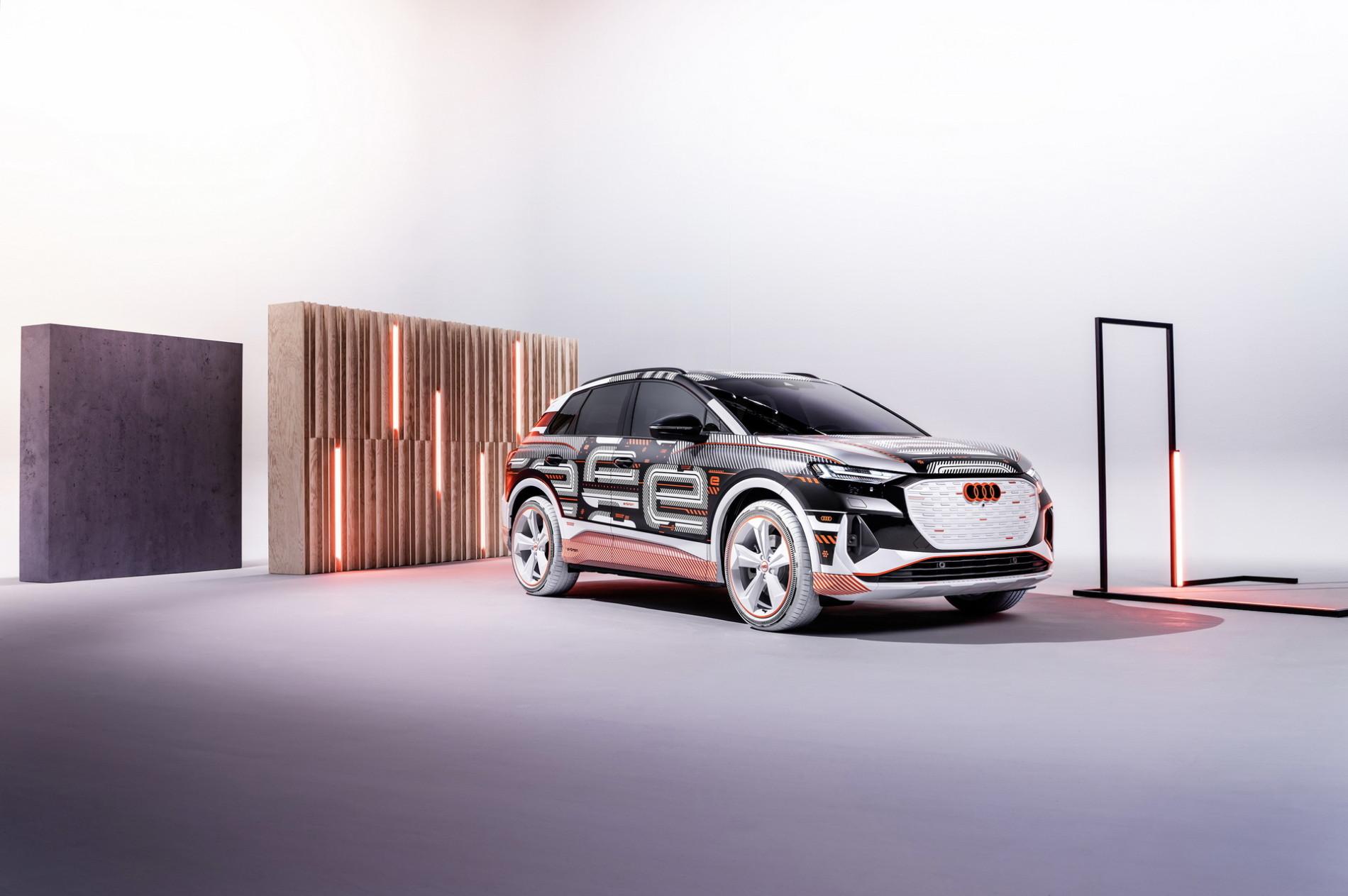 Audi Q4 E-Tron - Audi Q4 E-Tron