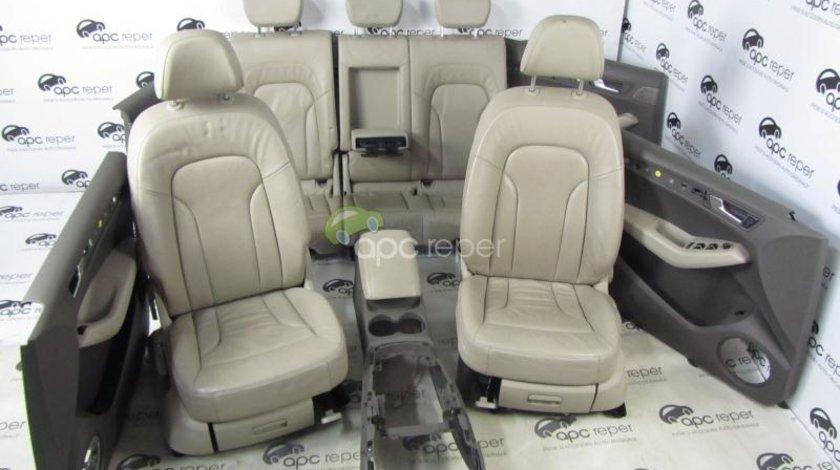 Audi Q5 8r Interior Complet Scaune Piele Fete De Usi