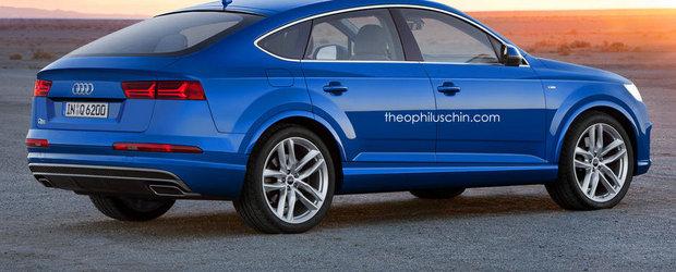 Audi Q6: ASA ar putea arata rivalul Audi pentru X6 si GLE Coupe