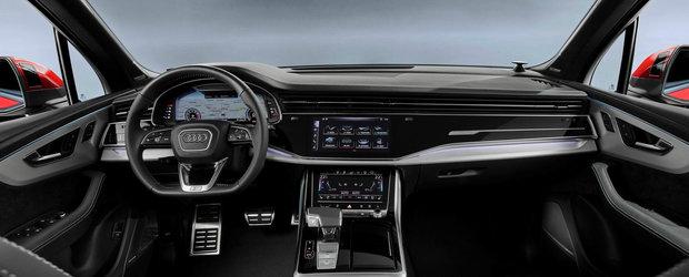 AUDI Q7 a primit un facelift major. POZE REALE cu versiunea mult imbunatatita