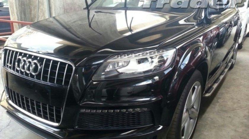 Audi Q7 FACELIFT 2012 - bara fata , capota ,aripi , faruri led , trager radiatoare electro armatura