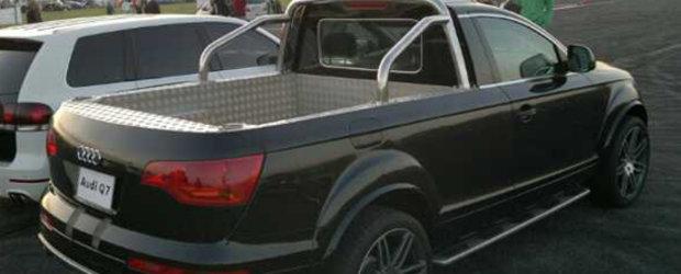Audi Q7 Pick-Up este automobilul de care nimeni nu are nevoie