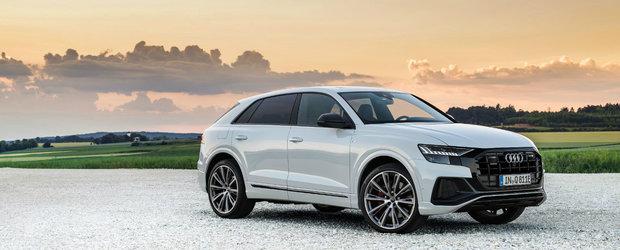 Audi Q8 de-acum si in versiune plug-in hybrid. Puterea si autonomia anuntata de producator