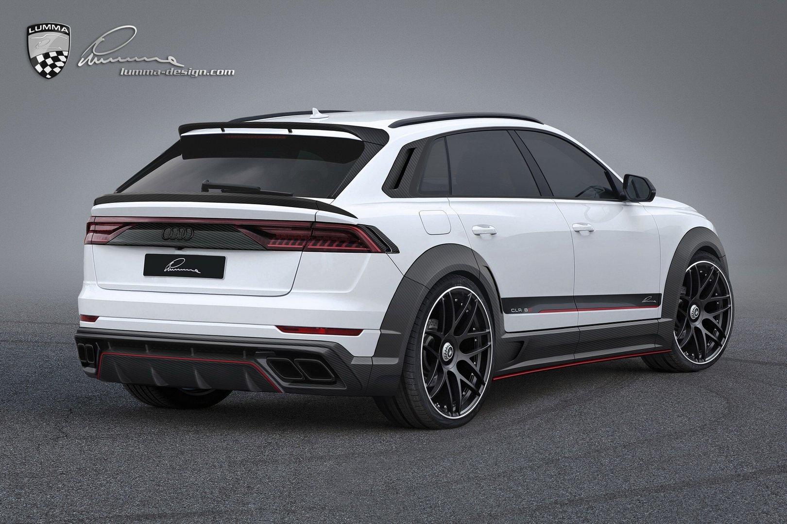 Audi Q8 de la Lumma Design - Audi Q8 de la Lumma Design