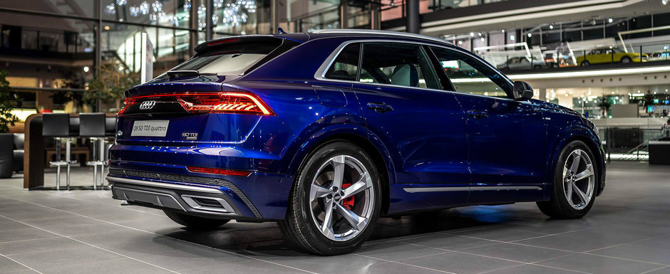 Audi Q8 s-a ieftinit in Romania. Cat costa acum primul SUV Coupe al nemtilor
