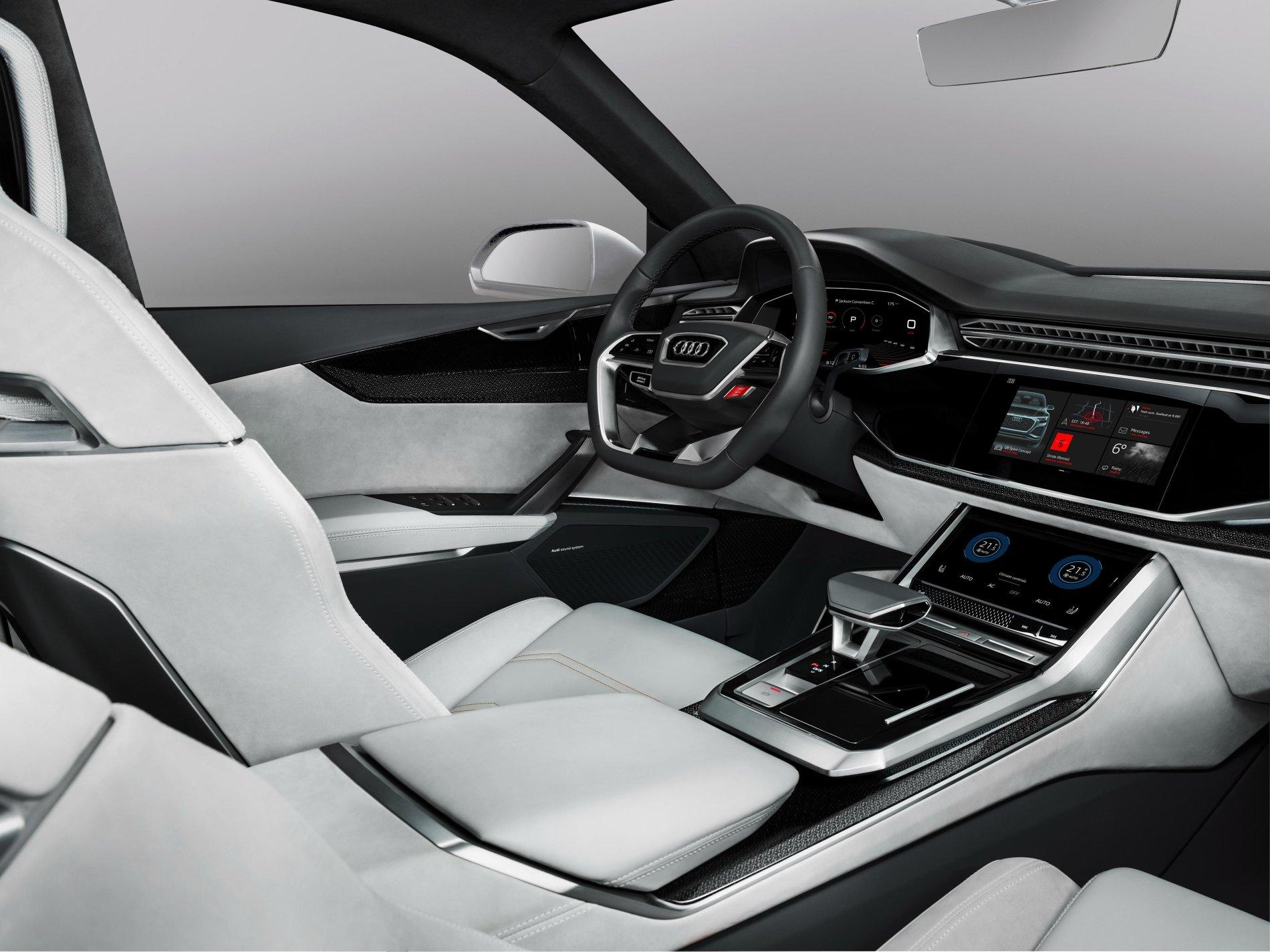 Audi Q8 Sport Concept - Audi Q8 Sport Concept