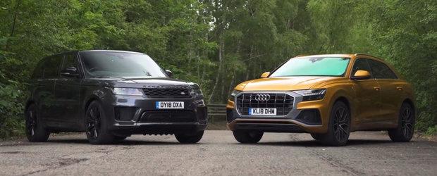 Audi Q8 vs. Range Rover Sport: Cine primeste premiul de cel mai tare SUV al momentului?