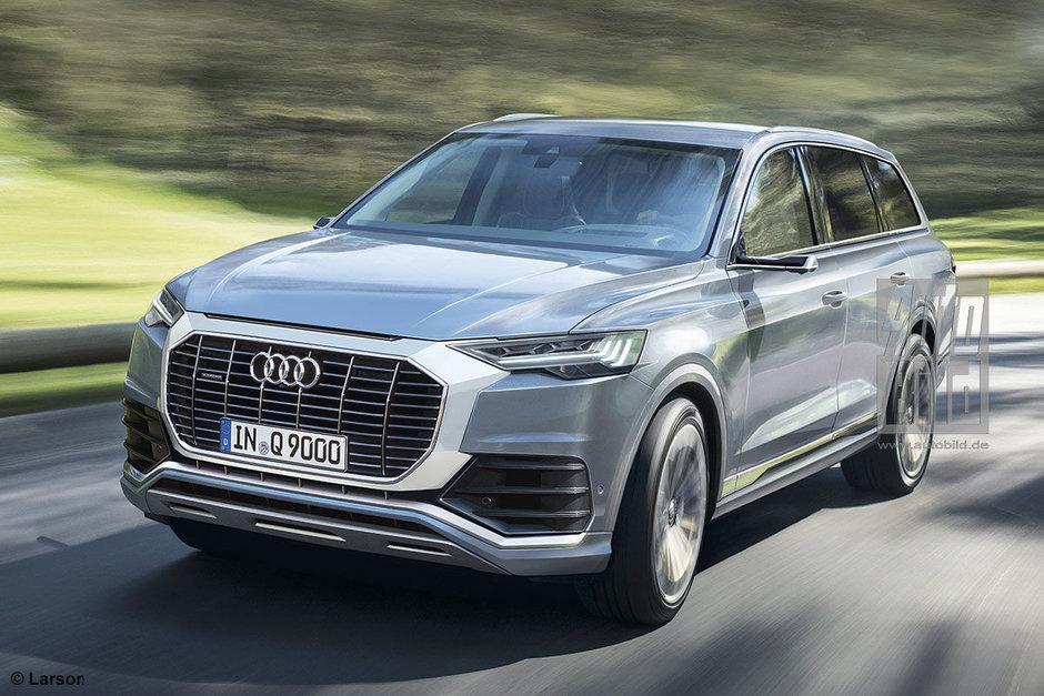 Audi Q9 - Studiu de design