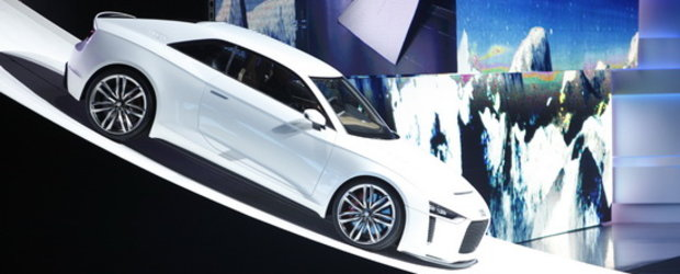 Audi Quattro Concept celebreaza 30 de ani de... quattro!