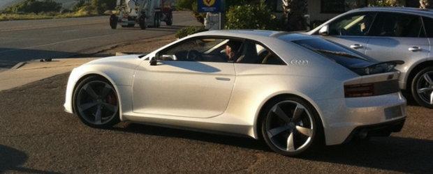 Audi Quattro Concept intra in productia de serie si cucereste California! Nu chiar in acelasi timp.