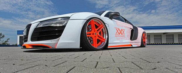 Audi R8 by xXx Performance: Cand companiile de tuning o iau razna