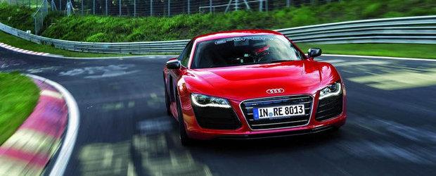Audi R8 e-tron ia cu asalt Ring-ul, reuseste un timp record. VIDEO AICI!