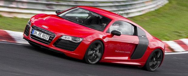 Audi R8 e-tron nu va ajunge in showroom-uri