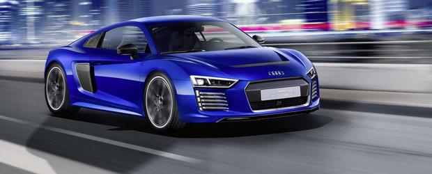Audi R8 E-Tron Piloted Driving Study anticipeaza supercarul ce se conduce singur