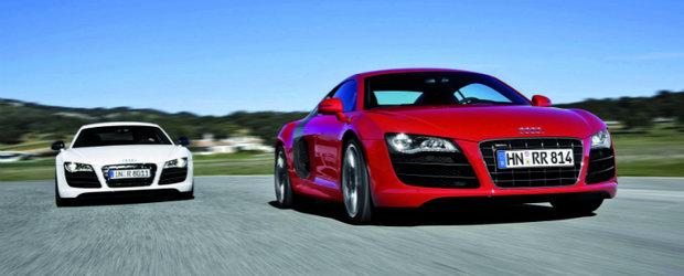 Audi R8 Facelift - In curand, in lumea supercarurilor