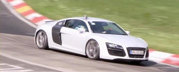 Audi R8 Facelift - Video Spion