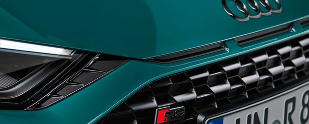 Audi R8 Green Hell Edition debuteaza cu 620 CP si productie limitata la 50 de exemplare. POZE
