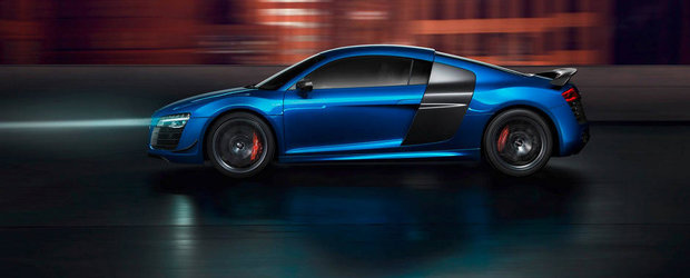Audi R8 LMX se autoproclama cea mai rapida masina cu faruri laser