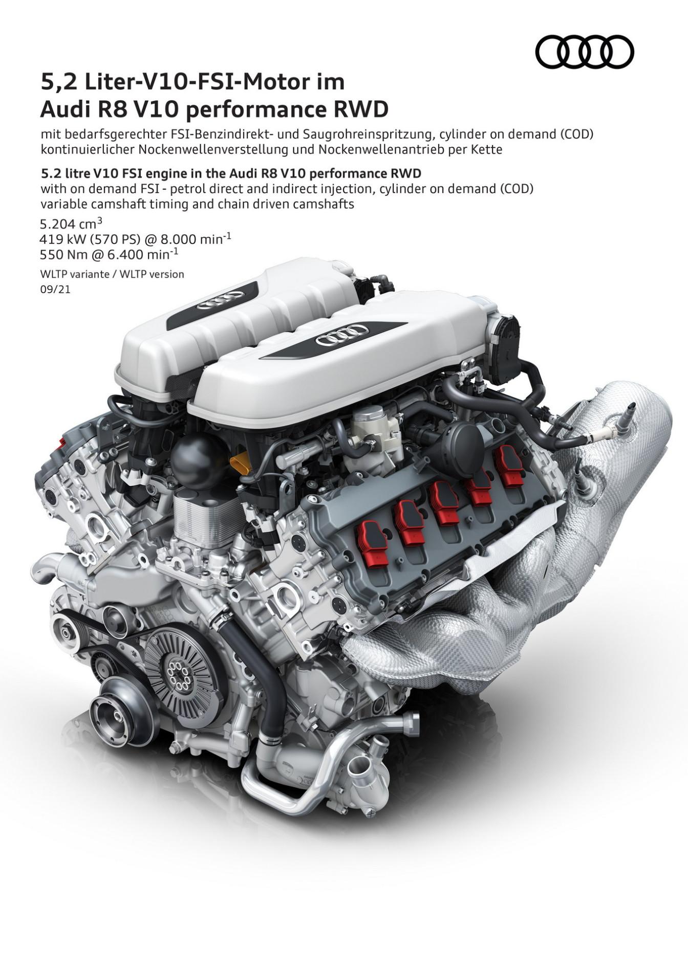 Audi R8 V10 Performance RWD - Audi R8 V10 Performance RWD