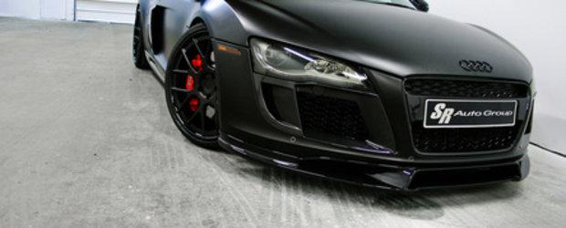 Audi R8 V10 Project Valkyrie - Diabolic de negru... mat