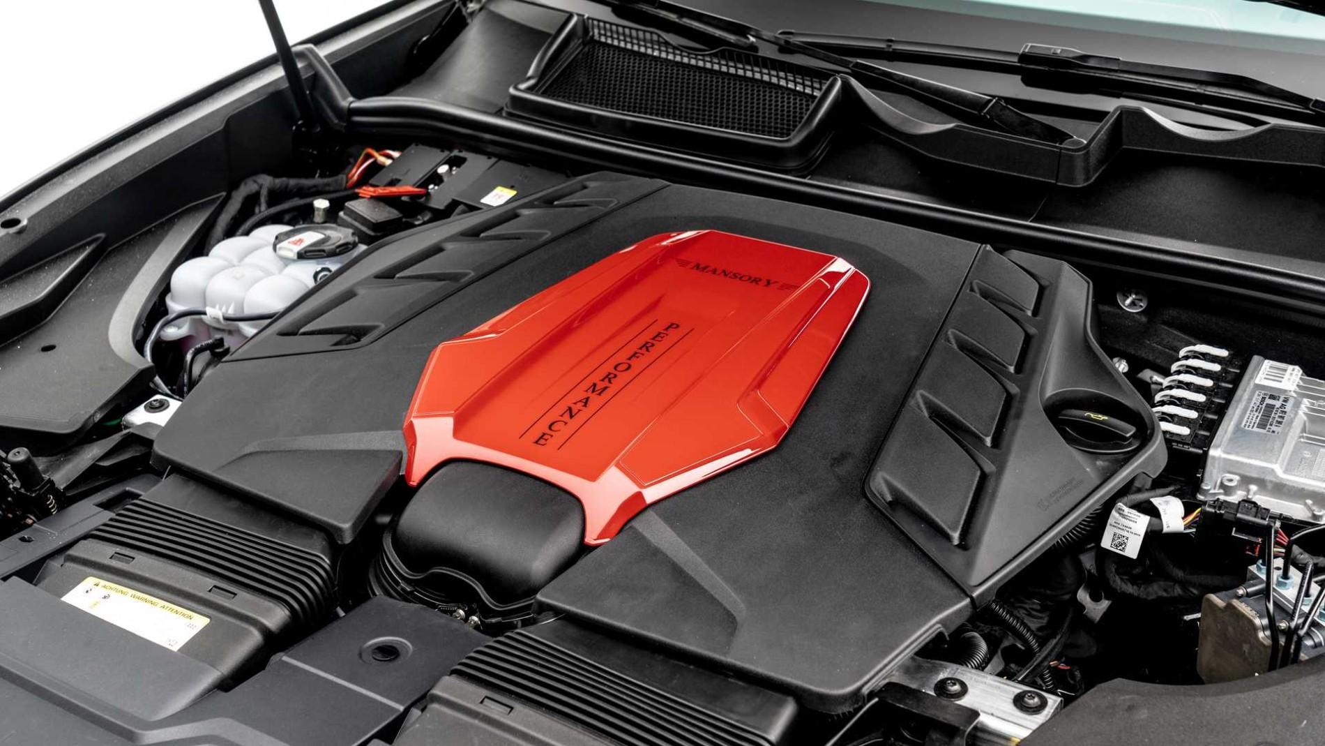 Audi RS Q8 de la Mansory - Audi RS Q8 de la Mansory
